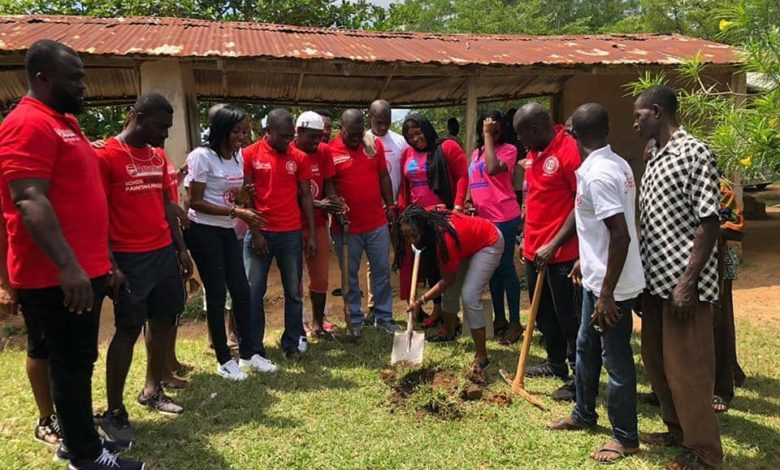 Arsena 780x470 - ARSENAL SUPPORTERS, GHANA AND SUGARDEM MINISTRIES CUT SOD FOR THE CONSTRUCTION OF A 3-CLASSROOM UNIT BLOCK