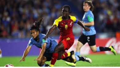 Photo of Black Queens Star Mukarama Abdulai leaves to continue her education in USA.