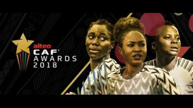CAF 390x220 - South African Attacking Jewel Thembi Kgatlana Leads CAF Women POTY Short list  As Oshoala Plots Fourth Triumph
