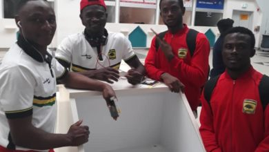 Photo of Asante Kotoko lands in Khartoum-Sudan, to begin life in the CAF Confederation Cup
