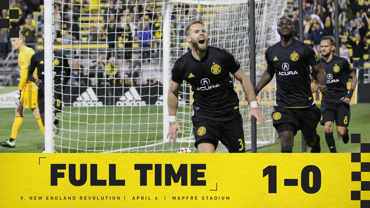 D3g4SFRW4AAkP0D - Jonathan Mensah Flourishes As Columbus Crew Go Top In Eastern Conference  MLS