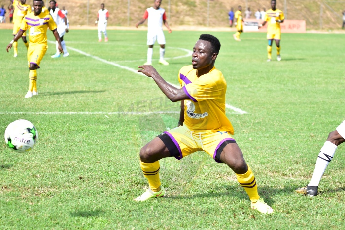 "Photo of Kwame Boateng ends ""romance"" with Medeama SC"