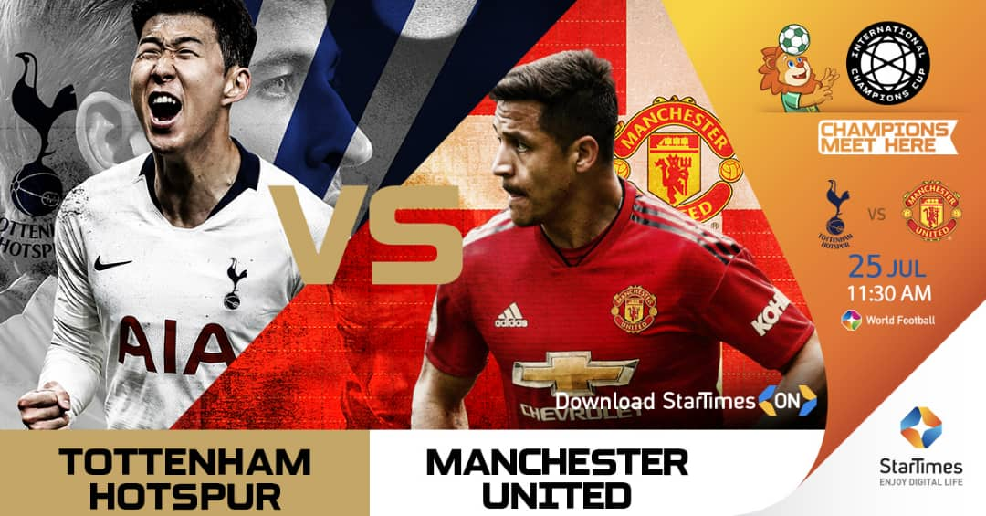 IMG 20190724 WA0018 - English rivals set for battle in China. International Champions Cup live only on StarTimes...