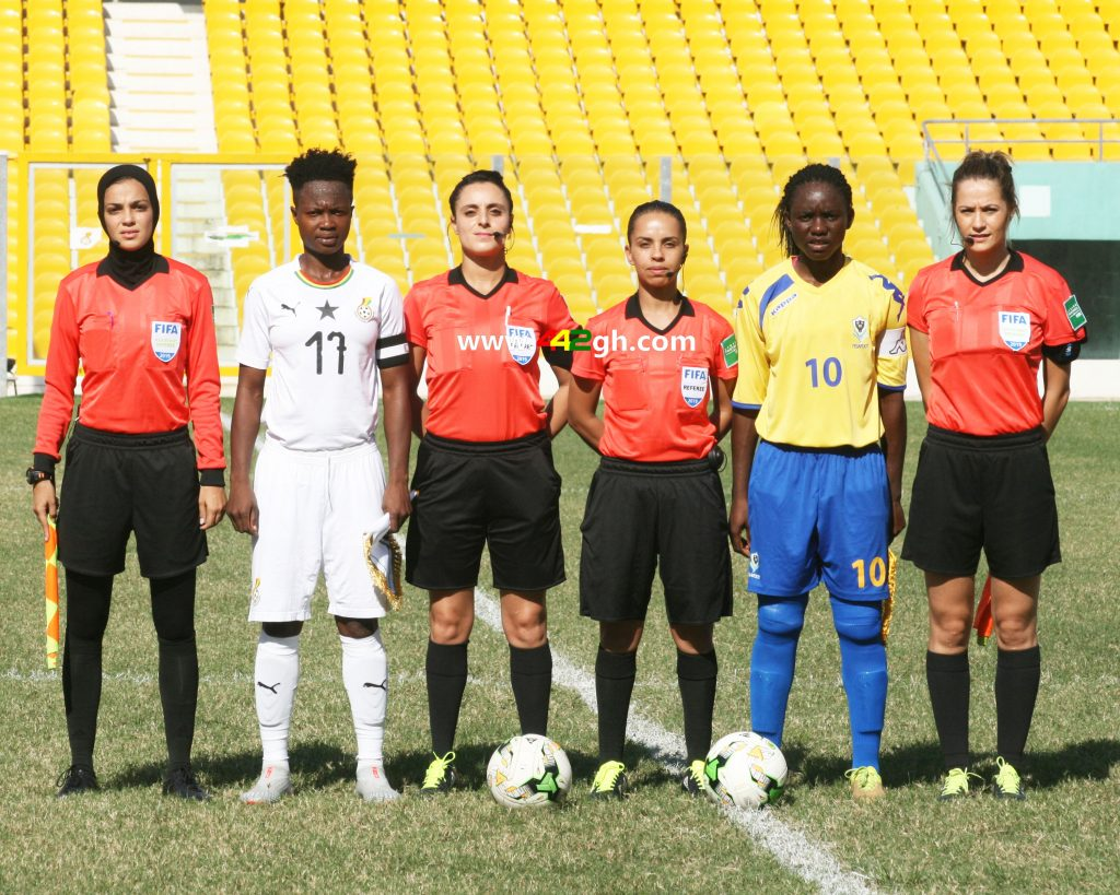 Black Queens Captain - Match Report: Black Queens of Ghana 2-0 Les Pantheres of Gabon, Queens make nonsense of Les Panthers with resounding victory in Accra