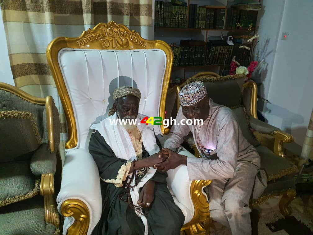 IMG 20190919 WA0070 - Pictures: George Afriyie visit to Chief Imam's residence