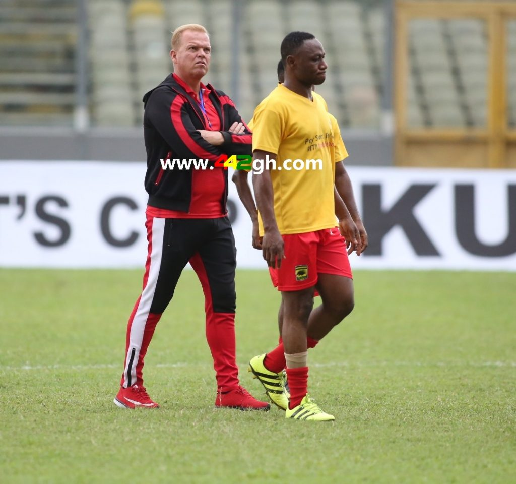 Kjetil Zachariasson - Breaking News: Kjetil Zachariasson reports Asante Kotoko to the Norwegian Embassy in Ghana.