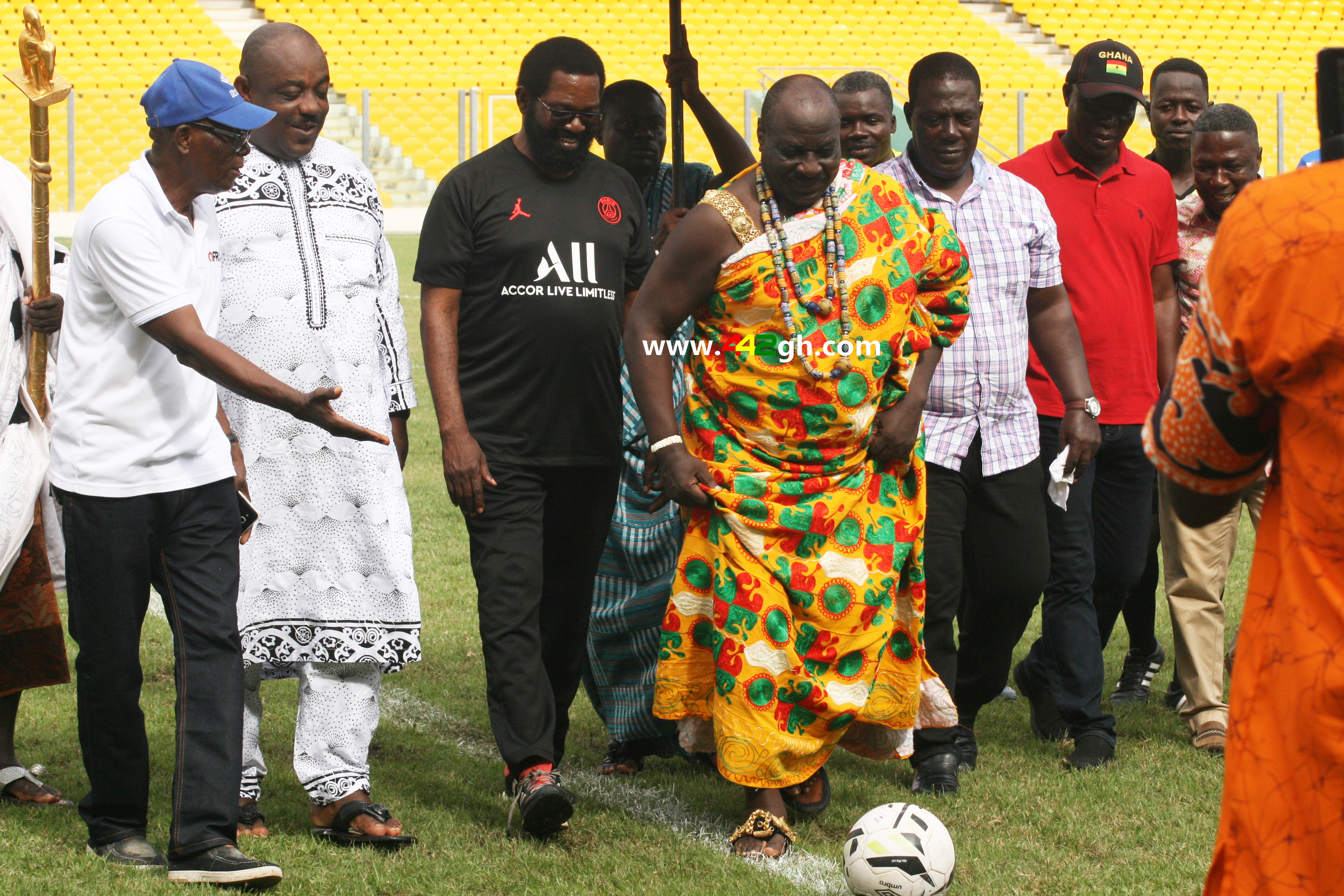 Nii Akwashong - Pictures: Exclusive photos from the Homowo cup between Hearts of Oak and Great Olympics