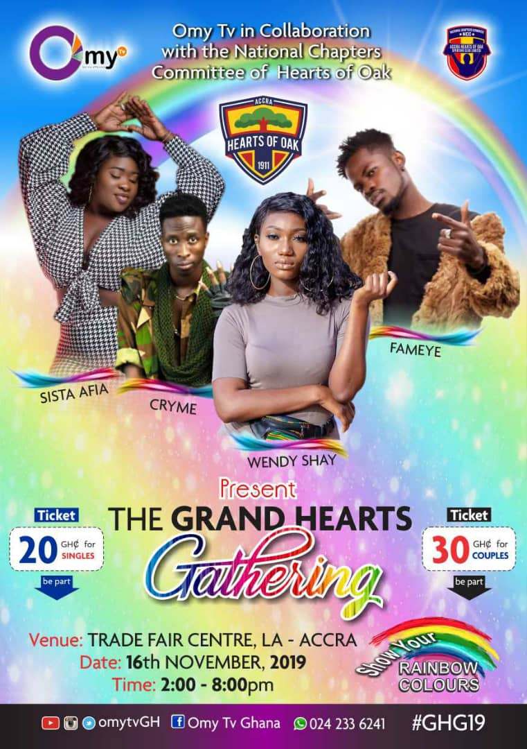 IMG 20191101 WA0002 - Grand Hearts Gathering; Organisers announce gate fees for mega event