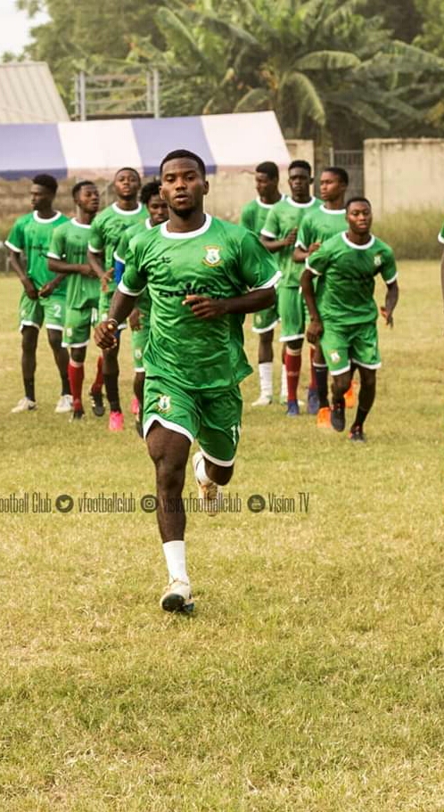 Vision FC Wingback Prince Ofori Set Sight On Premier League Qualifications Ahead Of Season Openers WhatsApp Image 2020 01 07 at 05