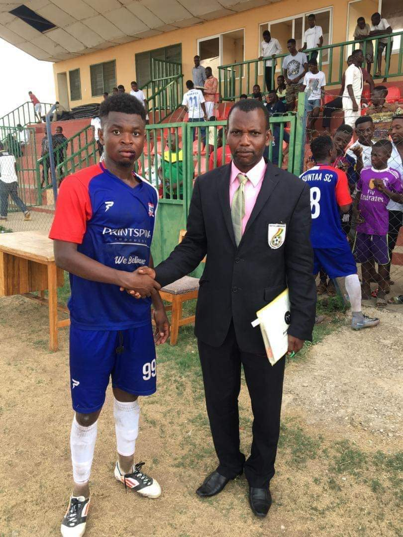 Photo of MTN FA Cup: Abdulai  Osman Goro 'Olembe' Scores Two  QUICK Goals To Rescue Wa Suntaa SC From Cup Woes