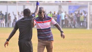 Photo of Embattled Bechem United FC Trainer Kwaku Danso Schools Ghanaian Trainers After Recieving GHC5000 Fine From FA