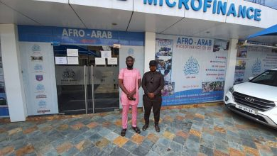 Photo of President of Cheetah FC confers on Afro Arab Group Chairman
