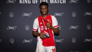 8B40A444 D616 4FEC 9465 0AFED987BF95 390x220 - Ajax star Kudus Mohammed bags best player award for the second time
