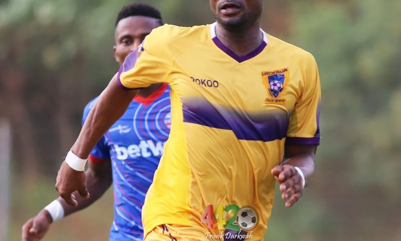 Prince Opoku Agyemang 3 780x470 - Medeama recall Opoku Agyemang from Cape Town City loan