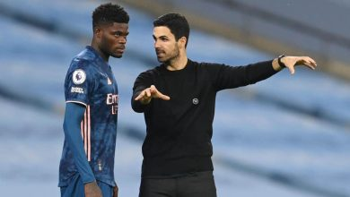Thomas Partey and Arteta 390x220 - Arsenal boss Arteta explains why he didn't start Partey against Man City