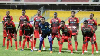 Photo of Breaking news – Asante Kotoko threatens to Pull out of CAF Champions league, cites acts of frustration from Ghana FA.  Breaking news – Asante Kotoko threatens to Pull out of CAF Champions league, cites acts of frustration from Ghana FA. Asante Kotoko line up vs Eleven Wonders 390x220
