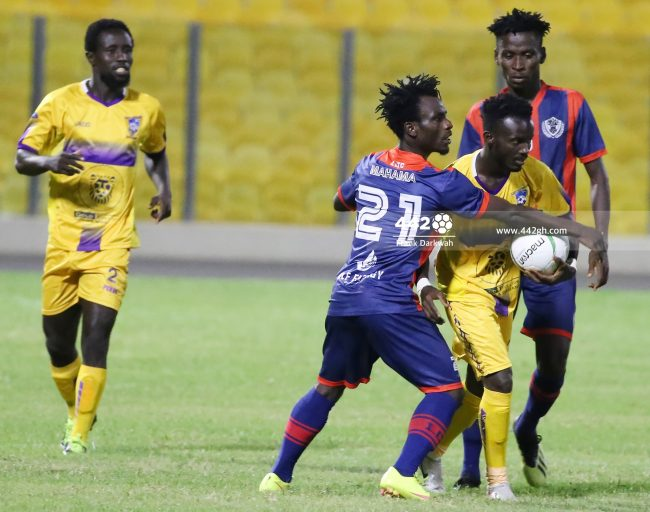 Baba Nahan 650x512 - Pictures - Exclusive images from Legon Cities vs Medeama SC Ghana Premier League game in Accra
