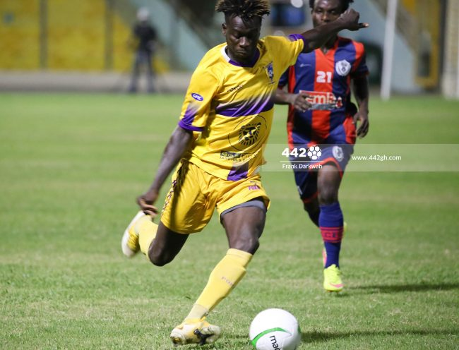 Eric Kwakwa 650x496 - Pictures - Exclusive images from Legon Cities vs Medeama SC Ghana Premier League game in Accra