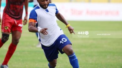 FB IMG 1608284827992 390x220 - GHPL WK6: Gladson Awako's Solitary Strike Earns THREE Points For Great Olympics