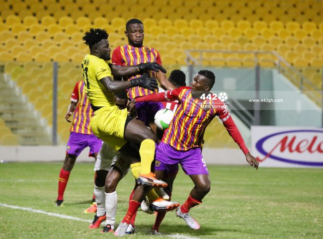 Hearts vs Karela United 650x481 - Tactical Preview - Hearts of Oak vs Accra Great Olympics, Predatory Preko's 'Octopus gripped' side comes up against  'Papistic' Papic's Diamond shaped midfield in Ga Mashie Derby.