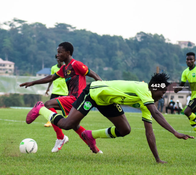 Imoro Ibrahim 650x582 - Pictures : Exclusive images from Dreams FC vs Asante Kotoko Ghana Premier League match