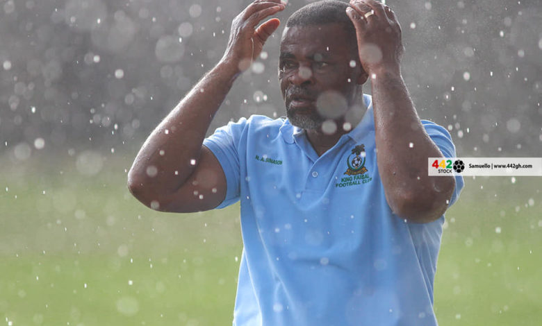 Andy Sinason 780x470 - GPL: King Faisal Coach Blames One Player For Eleven Wonders Defeat