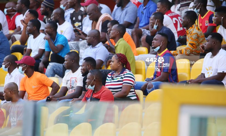 Hearts Fans 780x470 - President Akufo Addo Issues Strong Warning to GFA and NSA on managing COVID-19 Protocols at Match venues