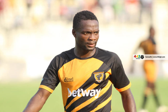 Yaw Annor of Ashantigold 650x433 - Full Album - Ashantigold SC 0-0 Medeama SC Ghana Premier League Match
