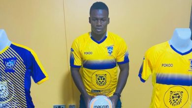 arhmed toure 390x220 - Ahmed Toure to miss game against Legon Cities