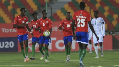 gambia 390x220 - AFCON U20: Early Revenge On The Cards As Ghana Face-off Gambia In The Semis
