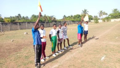 IMG 20210410 WA0213 390x220 - First batch of Central regional 'catch them young' referees completes examination