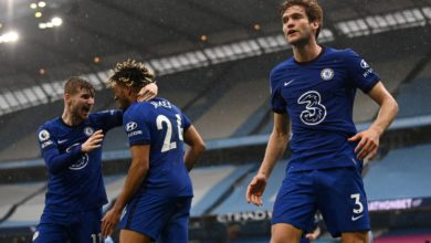 E04v yTWUAcX1qU 390x220 - Man City 1-2 Chelsea: Alonso Steals It Late For The Blues Who Move To Third On The Log