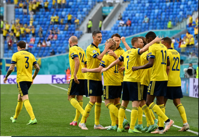 Sweden last 16 - Euro 2020 Round Up: Claesson ends Poland hopes; Spain thump Slovakia 5-0 to seal last 16 spot