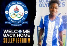 6D59007F 4AD3 492C B6B4 99000D1F7F72 220x150 - Great Olympics re-sign Ibrahim Sulley