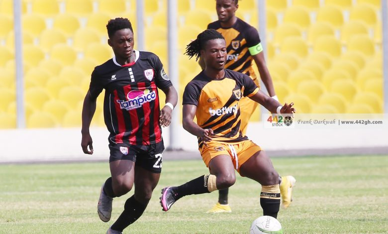 Kwadwo Amoako Ashantiogold vs Inter Allies 780x470 - Match Fixing Allegations - Ashantigold and Inter Allies charged with 5 counts of Match Manipulation